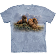 Old Timers Bison Unisex Cotton T-Shirt | The Mountain | 106431 | Bison T-Shirt