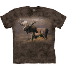Cooper Moose Unisex Cotton T-Shirt | The Mountain | 106426 | Moose T-Shirt