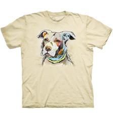 Paper Pitbull Unisex Cotton T-Shirt | The Mountain | 106474 | Pit Bull T-Shirt