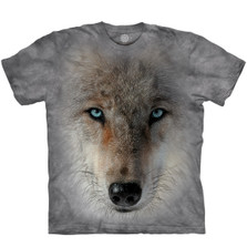 Inner Wolf Pack Unisex Cotton T-Shirt   The Mountain   106406   Wolf T-Shirt