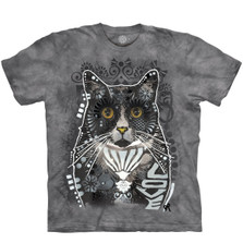 Cat Love Unisex Cotton T-Shirt | The Mountain | 106469 | Cat T-Shirt