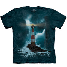 Fearless Lighthouse Unisex Cotton T-Shirt | The Mountain | 106459 | Lighthouse T-Shirt