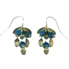 Blueberry Wire Drop Earrings | Michael Michaud Jewelry | SS4744bzbc -2