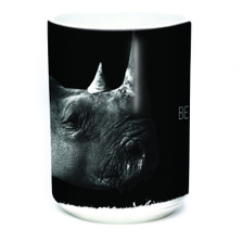 Be My Voice Rhino 15oz Ceramic Mug | The Mountain | 575977 | Rhino Mug