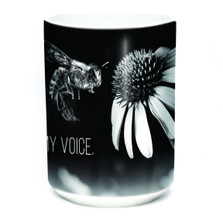 Bee My Voice 15oz Ceramic Mug | The Mountain | 576088 | Bee Mug