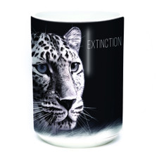 Leopard 15oz Ceramic Mug | Extinction is Forever | The Mountain | 575975