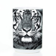 Save Our Species Tiger 15oz Ceramic Mug | The Mountain | 575978 | Tiger Mug