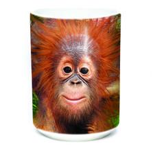 Orangutan Hang 15oz Ceramic Mug | The Mountain | 575932 | Orangutan Mug