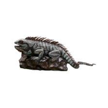 Iguana on Rock Bronze Fountain Statue | Metropolitan Galleries | SRB705542