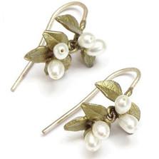 Myrtle Wire Earrings | Michael Michaud Jewelry | SS4763bzwp -2