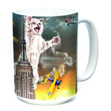 King Kitten 15oz Ceramic Mug | The Mountain | 573816 | Cat Mug