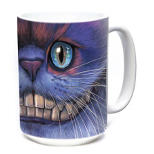Cheshire Cat 15oz Ceramic Mug | The Mountain | 574005 | Cat Mug