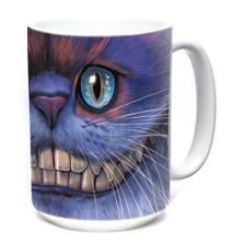 Cheshire Cat 15oz Ceramic Mug | The Mountain | 574005 | Cat Mug