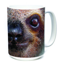 Sloth Face 15oz Ceramic Mug | The Mountain | 573596 | Sloth Mug