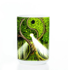 Yin Yang Tree 15oz Ceramic Mug | The Mountain | 573209 | Tree Mug