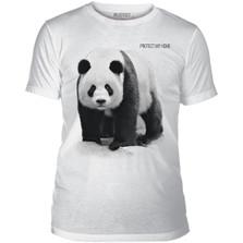 Panda Protect My Home Unisex Tri-Blend T-Shirt | The Mountain | 545555 | Panda T-Shirt