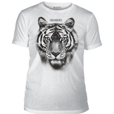 Endangered Tiger Unisex Tri-Blend T-Shirt | The Mountain | 545551 | Tiger T-Shirt