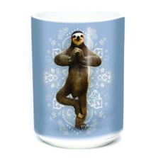 Namaste Sloth 15oz Ceramic Mug   The Mountain   576287   Sloth Mug