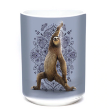 Yoga Warrior Sloth 15oz Ceramic Mug | The Mountain | 576288 | Sloth Mug