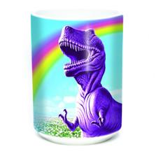 Happy T-Rex 15oz Ceramic Mug   The Mountain   575904   T-Rex Mug