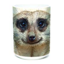 Meerkat Portrait 15oz Ceramic Mug   The Mountain   575961   Meerkat Mug