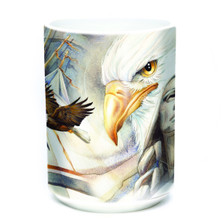 Eternal Spirit Eagle 15oz Ceramic Mug | The Mountain | 574850 | Eagle Mug