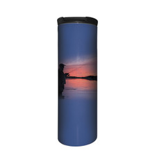 Fly Solo Fishing Stainless Steel 17oz Travel Mug | The Mountain | 5964771 | Fly Fishing Travel Mug