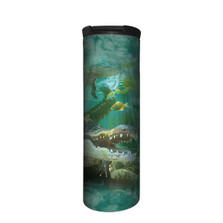 Alligator Swim Stainless Steel 17oz Travel Mug | The Mountain | 5964561 | Alligator Travel Mug