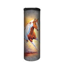 Sunset Gallop Horse Stainless Steel 17oz Travel Mug   The Mountain   5964571   Horse Travel Mug