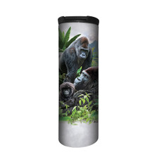 Gorilla Family Stainless Steel 17oz Travel Mug | The Mountain | 5964471 | Gorilla Travel Mug