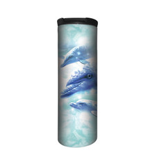 Dolphin Play Stainless Steel 17oz Travel Mug | The Mountain | 5964511 | Dolphin Travel Mug