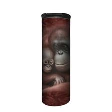 Orangutan Snuggled Stainless Steel 17oz Travel Mug | The Mountain | 5964451 | Orangutan Travel Mug