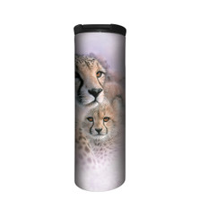 Cheetah Mother's Love Stainless Steel 17oz Travel Mug | The Mountain | 5964351 | Cheetah Travel Mug