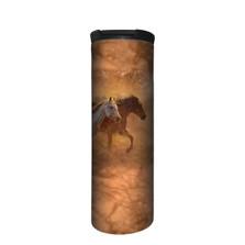 Gold Run Horses Stainless Steel 17oz Travel Mug   The Mountain   5964381   Horse Travel Mug