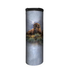 The Old Timers Bison Stainless Steel 17oz Travel Mug | The Mountain | 5964311 | Bison Travel Mug