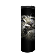 Snow Leopard Cub Stainless Steel 17oz Travel Mug | The Mountain | 5964321 | Snow Leopard Travel Mug