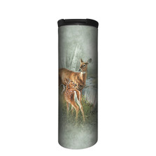 Birch Creek Whitetail Deer Stainless Steel 17oz Travel Mug | The Mountain | 5964241 | Deer Travel Mug
