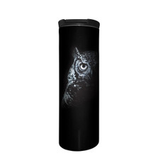 Shadow Owl Stainless Steel 17oz Travel Mug | The Mountain | 5964271 | Owl Travel Mug