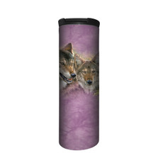 Spring Wolves Stainless Steel 17oz Travel Mug | The Mountain | 5964221 | Wolf Travel Mug