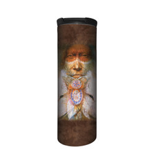 Wolf Sacred Transformation Stainless Steel 17oz Travel Mug | The Mountain | 5964101 | Wolf Travel Mug