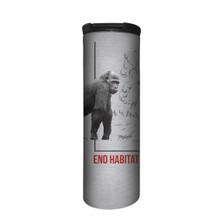 Gorilla Habitat Stainless Steel 17oz Travel Mug | The Mountain | 5955781 | Gorilla Travel Mug