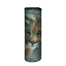 Frozen Panther Stainless Steel 17oz Travel Mug | The Mountain | 5963891 | Panther Travel Mug