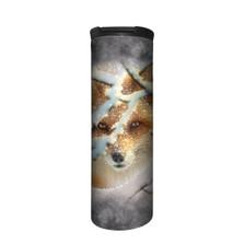Hide and Seek Fox Stainless Steel 17oz Travel Mug | The Mountain | 5963931 | Fox Travel Mug