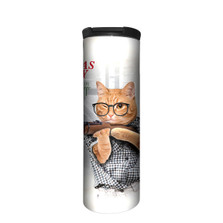 A Cat-mas Story Stainless Steel 17oz Travel Mug | The Mountain | 5963981 | Cat Travel Mug