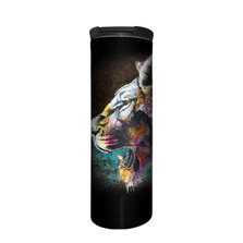 Painted Lion Stainless Steel 17oz Travel Mug | The Mountain | 59632301001 | Lion Travel Mug