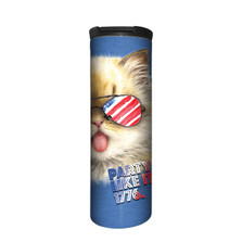 4th of July Cat Stainless Steel 17oz Travel Mug | The Mountain | 5962671 | Cat Travel Mug