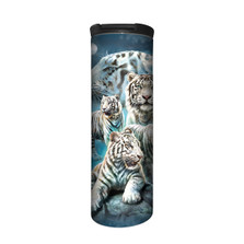 White Tiger Collage Stainless Steel 17oz Travel Mug | The Mountain | 5962731 | White Tiger Travel Mug