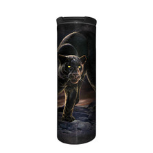 Panther Portrait Stainless Steel 17oz Travel Mug | The Mountain | 5962771 | Black Panther Travel Mug