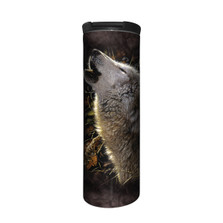 Song of Autumn Wolf Stainless Steel 17oz Travel Mug | The Mountain | 5962811 | Wolf Travel Mug