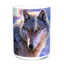 Adventure Wolf 15oz Ceramic Mug | The Mountain | 57401309011 | Wolf Mug